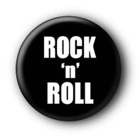 Rock'n'Roll Button Ansteckbutton #1