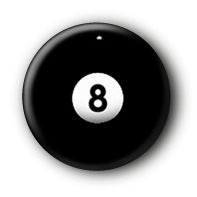 8Ball Button Ansteckbutton