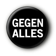 Gegen Alles Button Ansteckbutton