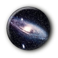 Galaxie Button Ansteckbutton