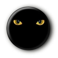 Glowing Eyes Button Ansteckbutton