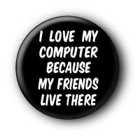 Friends Button Ansteckbutton