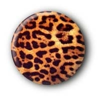Leopard Button Ansteckbutton #9