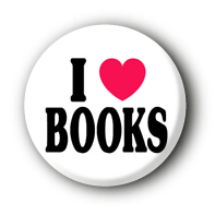 I love Books Button Ansteckbutton